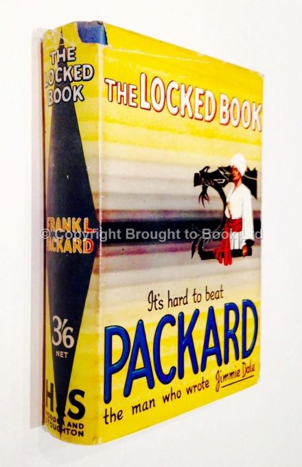 The Locked Book by Frank L Packard Early Reprint Hodder & Stoughton c1935